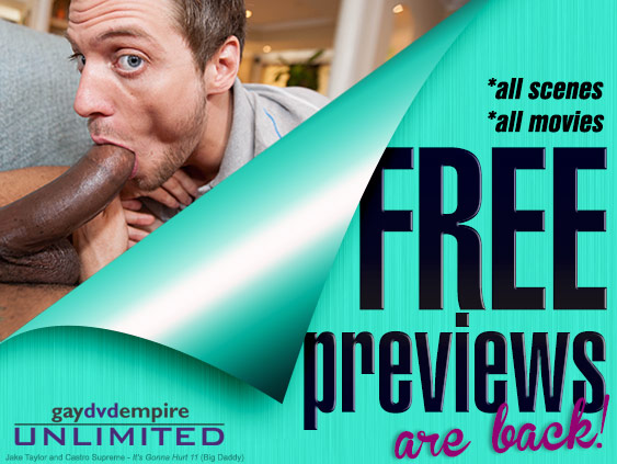 Get free previews on Gay DVD Empire Unlimited.