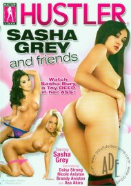 Sasha Grey And Friends DVD Image from Hustler.