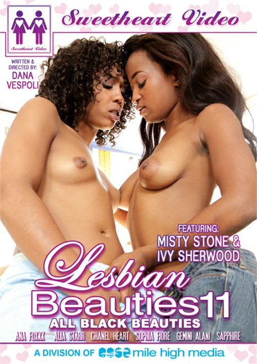 Lesbian Beauties Vol. 11: All Black Beauties