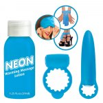 Neon Naughty Nites Kit - Blue Sex Toy