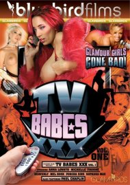 TV Babes XXX Vol. 1 DVD Image from Bluebird Films.