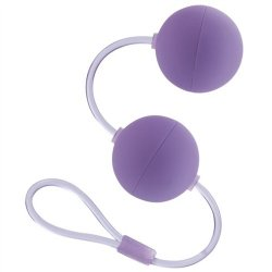 First Time Love Balls - Duo Lover - Purple Sex Toy