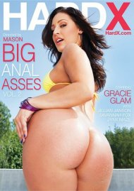 Big Anal Asses Vol. 2 DVD Image from Hard X.