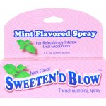 Sweeten'd Blow Throat Numbing Spray - Mint Sex Toy