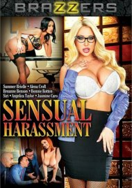 Sensual Harassment DVD Image from Brazzers.