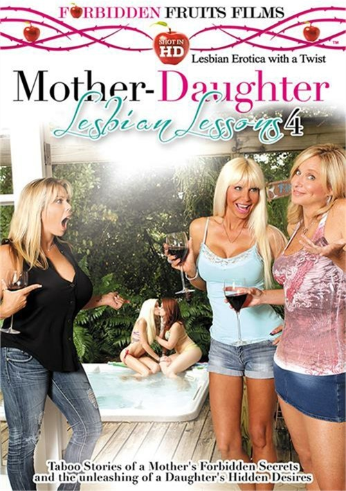 ���������� ����� �����-������ #4 / Mother-Daughter Lesbian Lessons #4 (2014) DVDRip