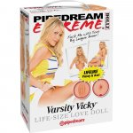 Pipedream Extreme Dollz: Varsity Vicky Life-Size Love Doll Sex Toy