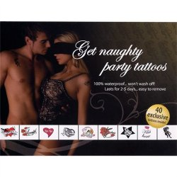 Get Naughty Party Tattoos Sex Toy