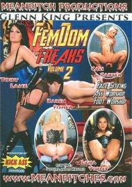 FemDom Freaks Vol. 2 DVD Image from Kick Ass.