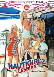 Nautigirlz Lesbian Boat Charters HD Porn Video Image from Forbidden Fruits Films.