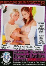Dr. Moretwats Homemade Porno: Lesbo Lust Vol. 2 Porn Movie