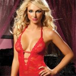 Midnight Affair Chemise Set - Red Sex Toy