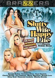 Slutty Wife Happy Life DVD Image from Brazzers.