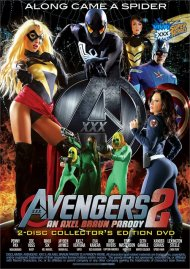Avengers XXX 2 DVD Image from Vivid.