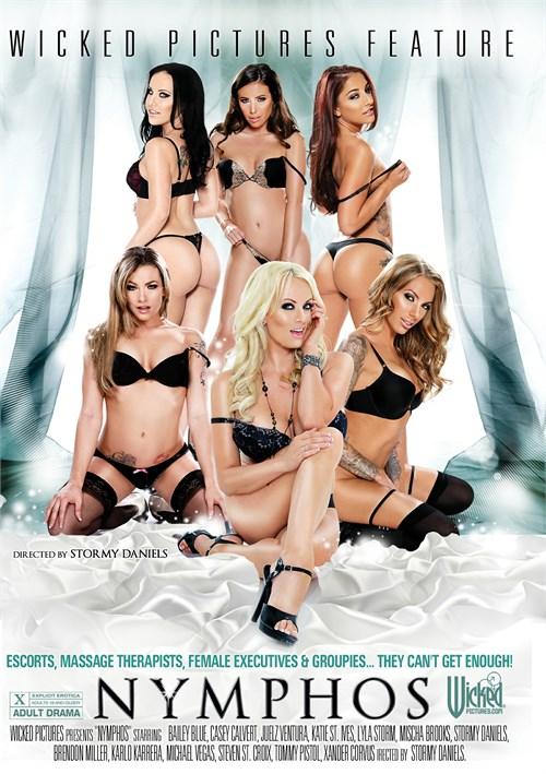 Nymphos DVD Porn Movie Image