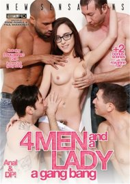 4 Men And A Lady: A Gang Bang DVD Image from New Sensations.