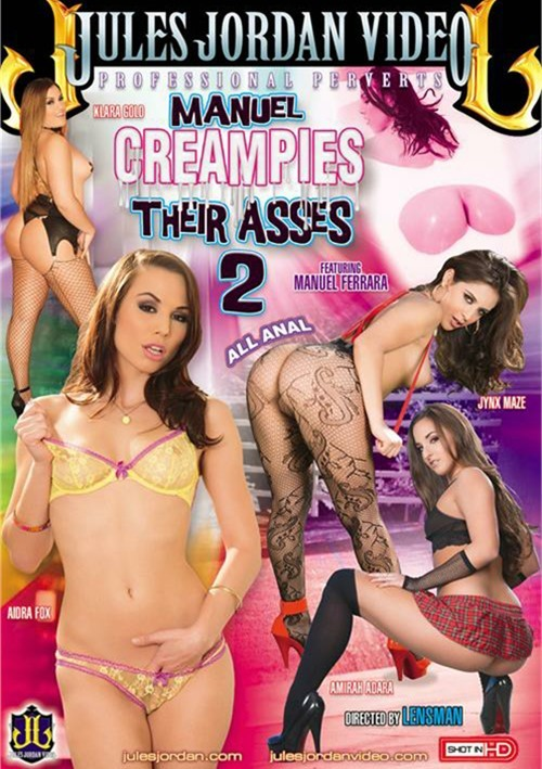 ������� ������� � ������� #2 / Manuel Creampies Their Asses #2 (2015) DVDRip