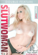 Annette Schwarz is Slutwoman 1 & 2 Porn Movie