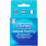 Durex Natural Feeling Lubricated - 3 Pack Sex Toy
