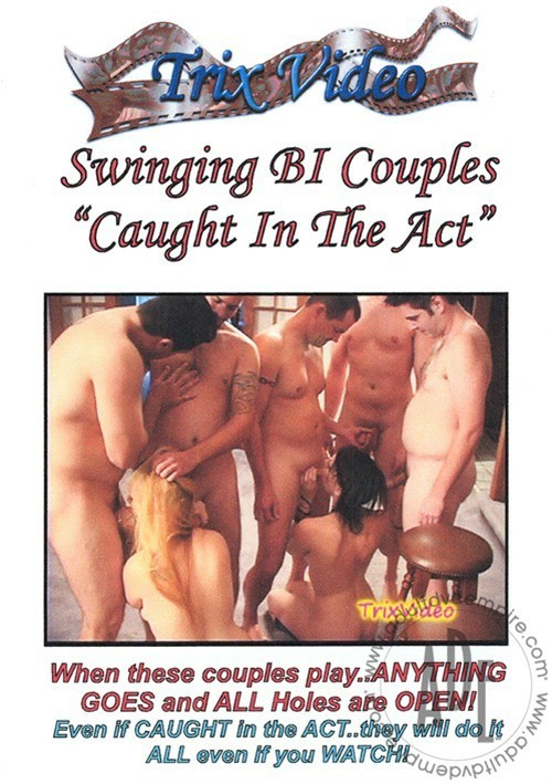 """Swinging Bi Couples """"Caught In The Act"""""""