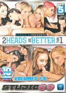 2 Heads Are Better Than 1 Vol. 1-5 Porn Movie