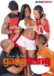 Black Schoolgirl Gangbang HD Video Image from Black Market.