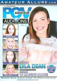 POV Amateur Auditions Vol. 21 DVD Image from Amateur Allure.