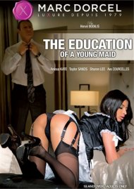 The Education Of A Young Maid DVD Image from Marc Dorcel.