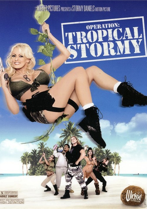 Operation: Tropical Stormy DVD Porn Movie Image