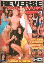 Reverse Gang Bang 4 DVD Image from Devil's Film.
