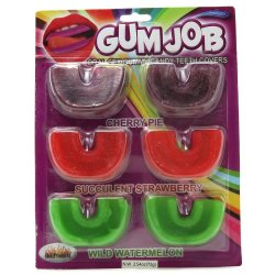 Gum Job: Gummy Candy Teeth Covers Image
