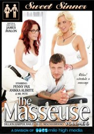 The Masseuse 6 DVD Image from Sweet Sinner.