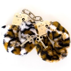 Fetish Fantasy Furry Cuffs - Leopard Sex Toy
