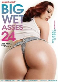 Big Wet Asses #24 DVD Image from Elegant Angel.