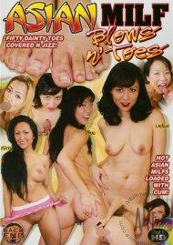 Asian MILF Blows n Toes Porn Video