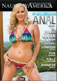 My Girl Loves Anal DVD Image from Naughty America.