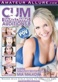 Cum Swallowing Auditions Vol. 8 DVD Image