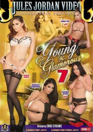 Young & Glamorous 7 DVD Image from Jules Jordan Video.