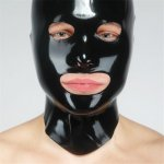 Fetisso Latex  Open Eye And Mouth Hood Sex Toy