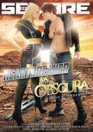 Heartbreaker VS Obscura: Lesbian Superheros DVD Image from Severe Sex.
