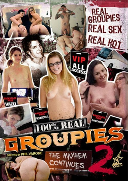 100% ��������� ������� / 100% Real Groupies #2 (2015) DVDRip