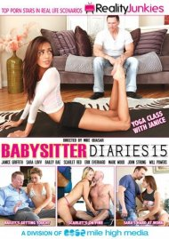 Babysitter Diaries 15 DVD Image from Reality Junkies.