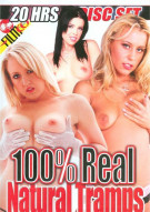 100% Real Natural Tramps 4-Disc Set Porn Movie