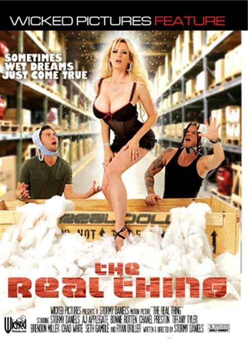 The Real Thing DVD Porn Movie Image