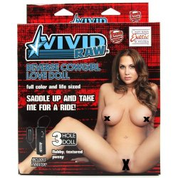 Vivid Raw Reverse Cowgirl Love Doll Sex Toy