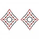 Peekaboos - Crystal Diamond - Red/Black Sex Toy