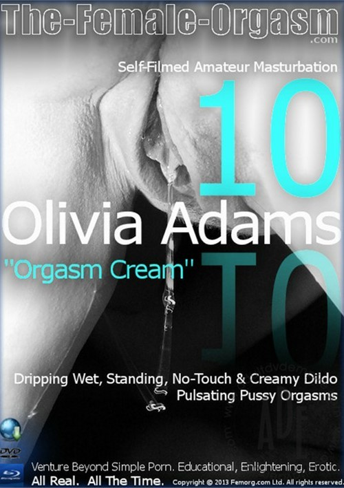 "Femorg: Olivia Adams ""Orgasm Cream"""
