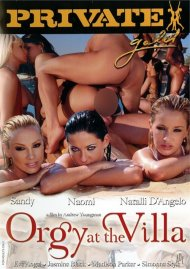 Orgy At The Villa Porn Movie