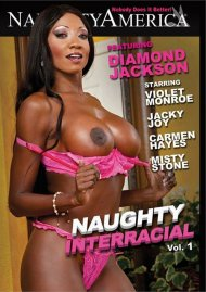 Naughty Interracial Porn Movie