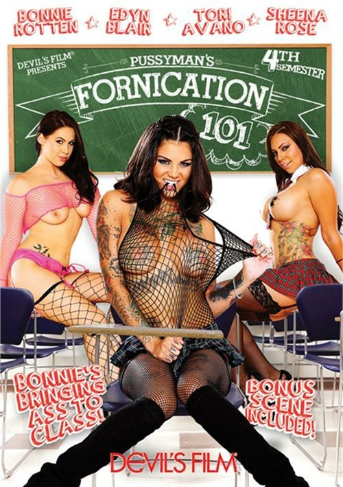 Pussyman: Fornication 101: 4th Semester Porn Movie